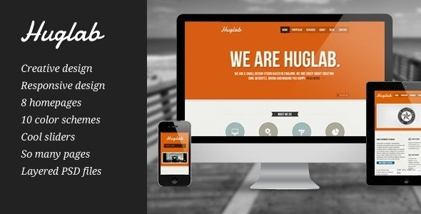 Huglab WordPress Theme