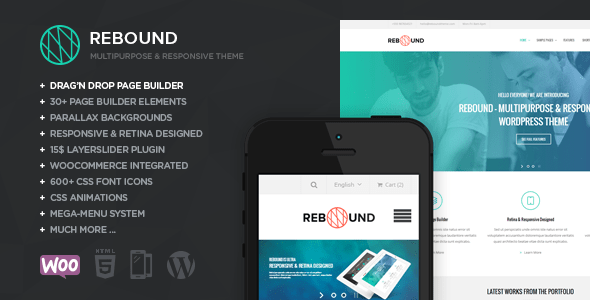 Rebound WordPress Theme