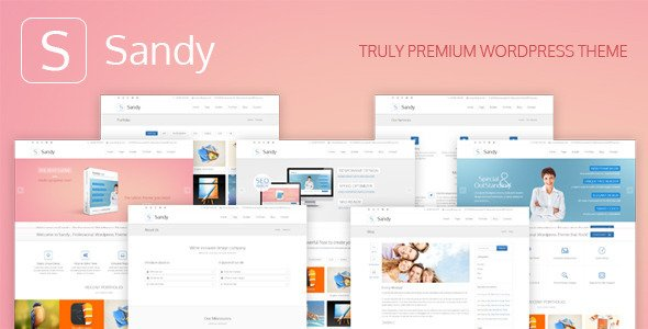 Sandy WordPress Theme