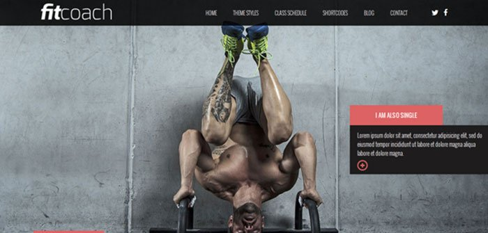 Fit-Coach - Fitness WordPress Theme