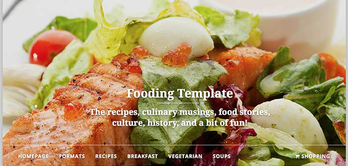Fooding Free WordPress Theme