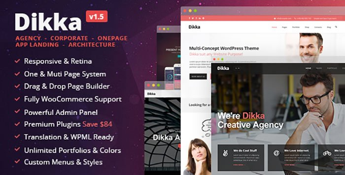 Dikka-WordPress-Theme