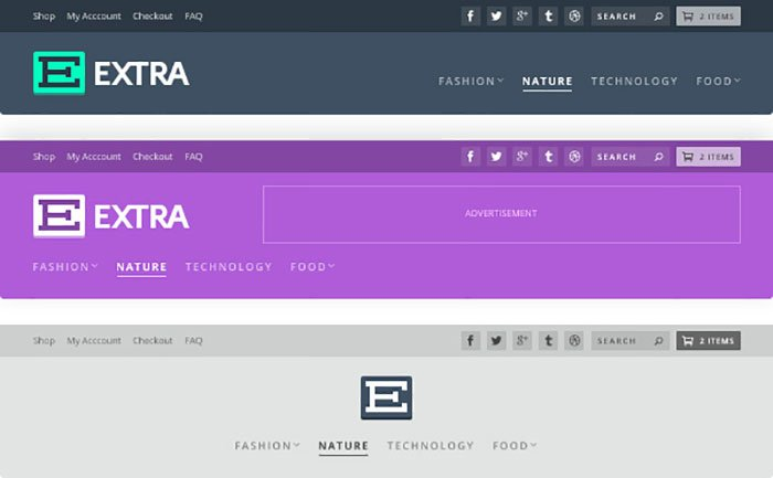 extra-header-layouts