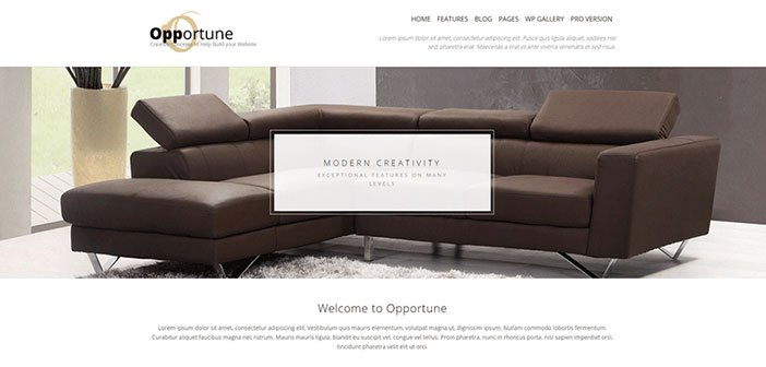 Opportune - Multipurpose WordPress Theme