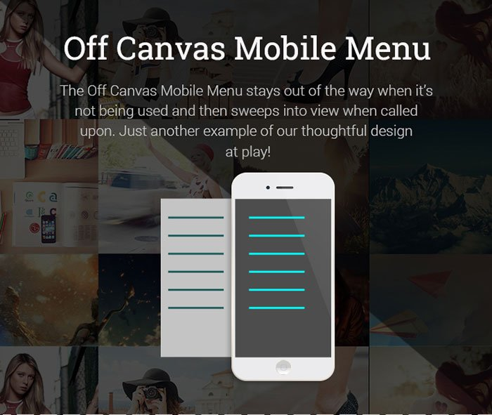 Off-Canvas-Mobile-Menu