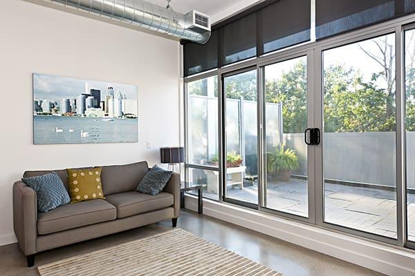 treatment ideas for sliding glass doors
