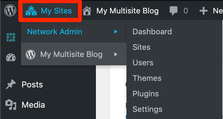 Managing a Multisite