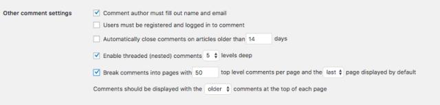 Split Excessive Comments Into Pages