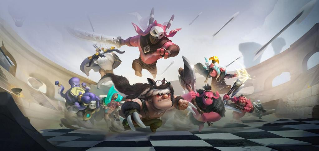 Auto Chess Dota 2 Drodo Studios Movil Android iOs