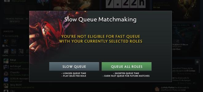 Image result for fast queues dota 2
