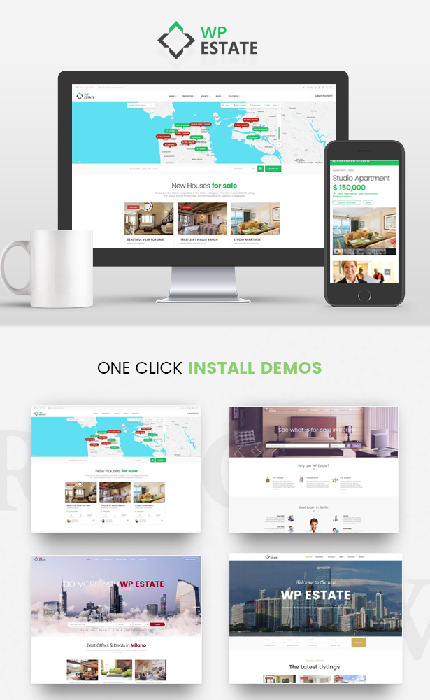 Real Estate - WP Estate Theme 1