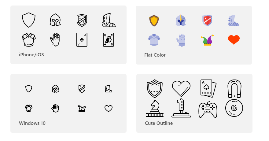 9+ Collections of App Icons That Users Will Never Forget