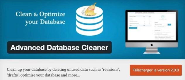 Plugin Advanced Database Cleaner
