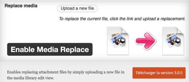 Plugin Enable Media Replace
