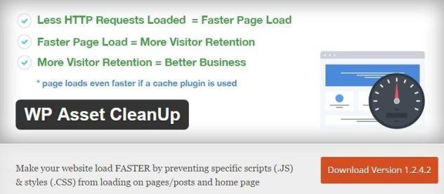 WP Asset CleanUp