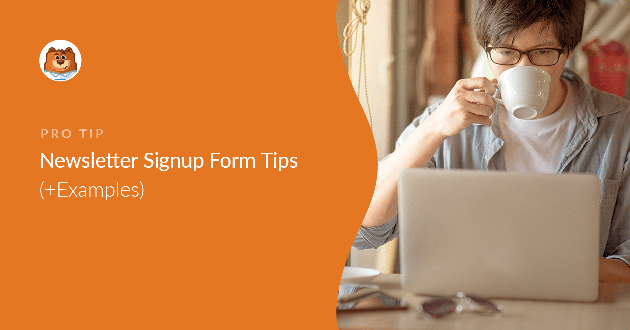This widget is designed using web technologies such as html5, and css3. 9 Newsletter Signup Form Tips Examples