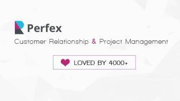 Perfex – Powerful Open Source CRM Nulled
