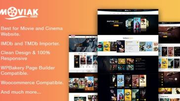 AmyMovie v3.5.0 – Movie and Cinema WordPress Theme