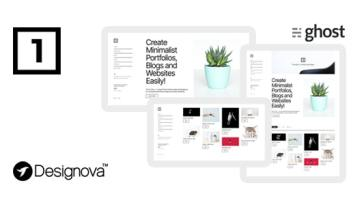 One v1.0 – Simple & Minimal Ghost Theme for Portfolios / Websites / Blogs