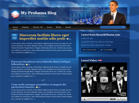 Probama WordPress Theme