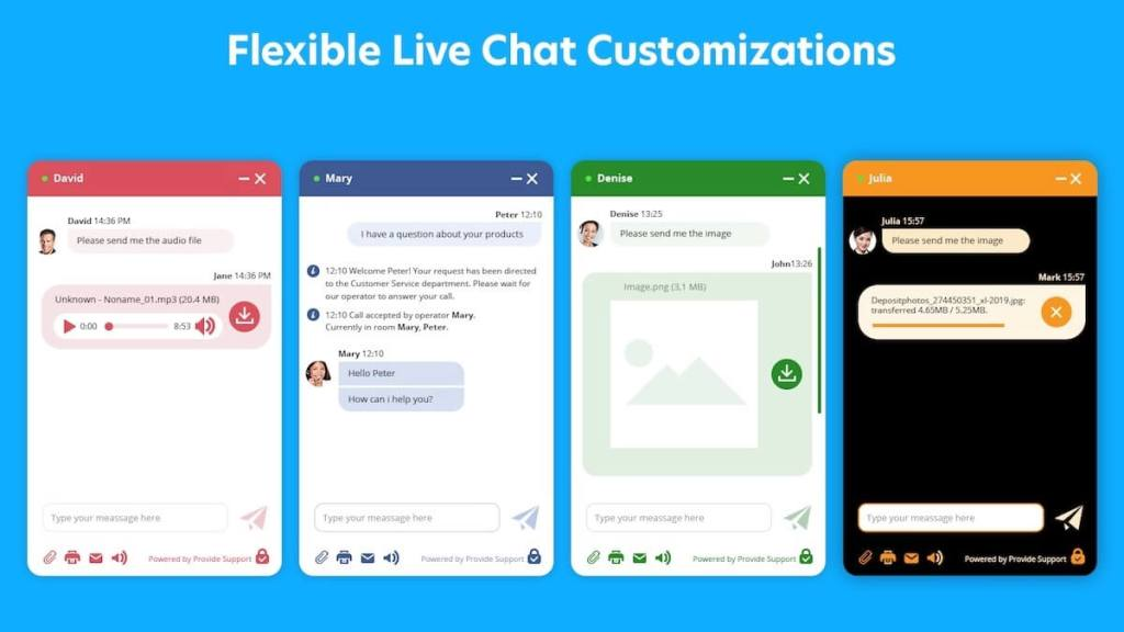 Provide Support WordPress live chat