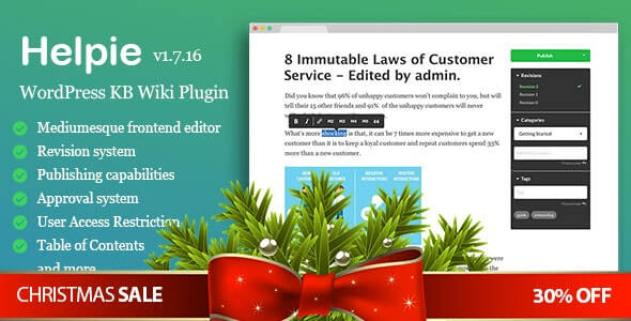 helpie WordPress Documentation Plugin