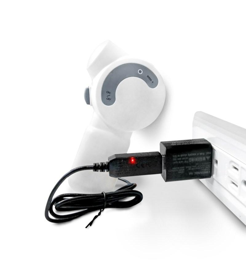 USB充電器_充電中