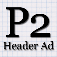 P2 Header Ad Icon