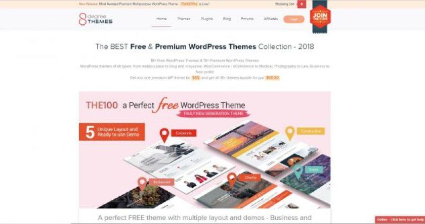 8 Degree WordPress Halloween Discounts