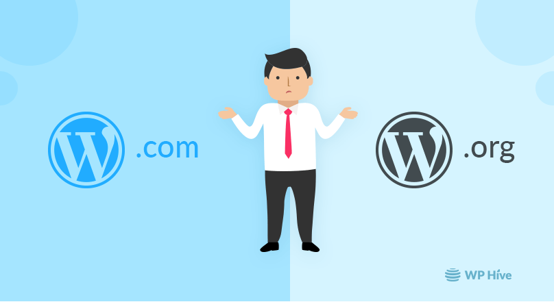WordPress.com vs WordPress.org Comparison – Pros and Cons [2020]