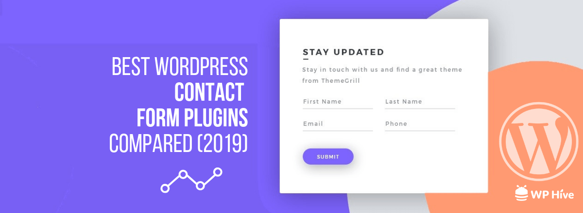 Top 5 Best Contact Form Plugins for WordPress Compared [2019]