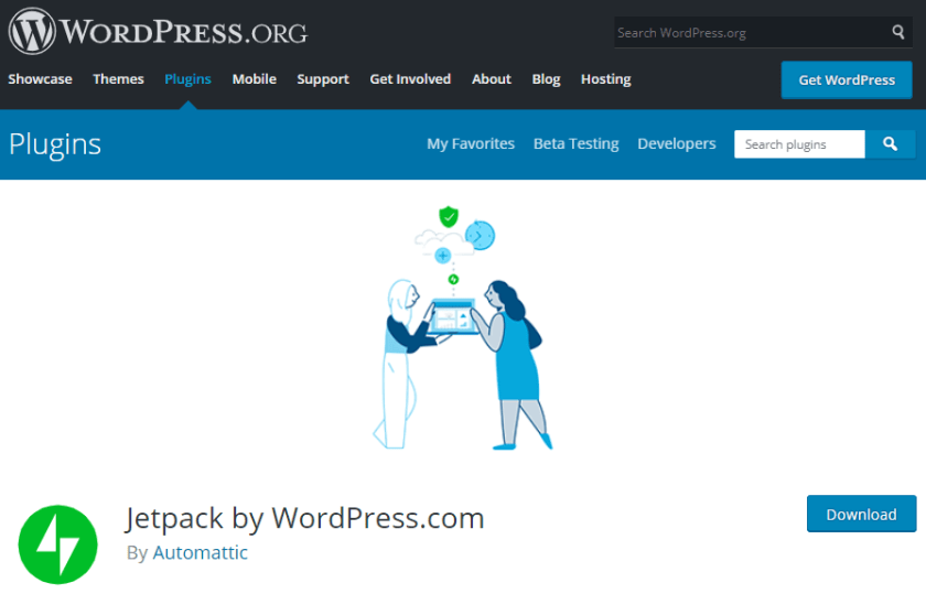 Jetpack- how to create a news website in WordPress