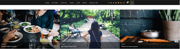 best WordPress theme for bloggers Hemlock