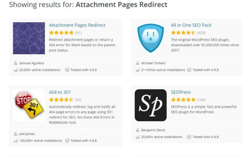 Attachment pages- WordPress image attachment page