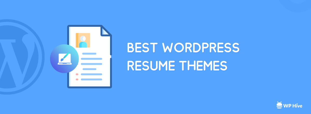 9+ Best WordPress Resume (CV) Themes for Landing Your Dream Job 1