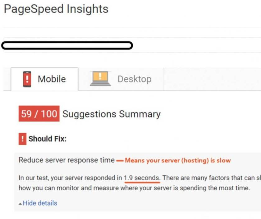 google-page-speed-slow