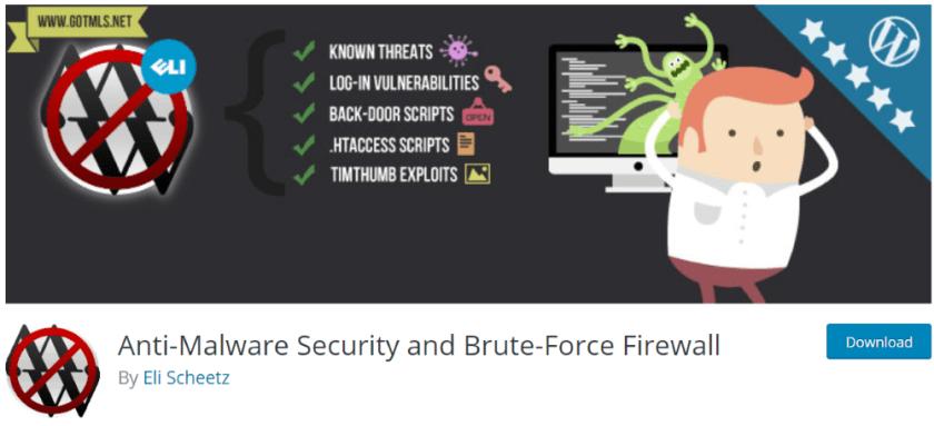 Anti-Malware WordPress Security Plugin