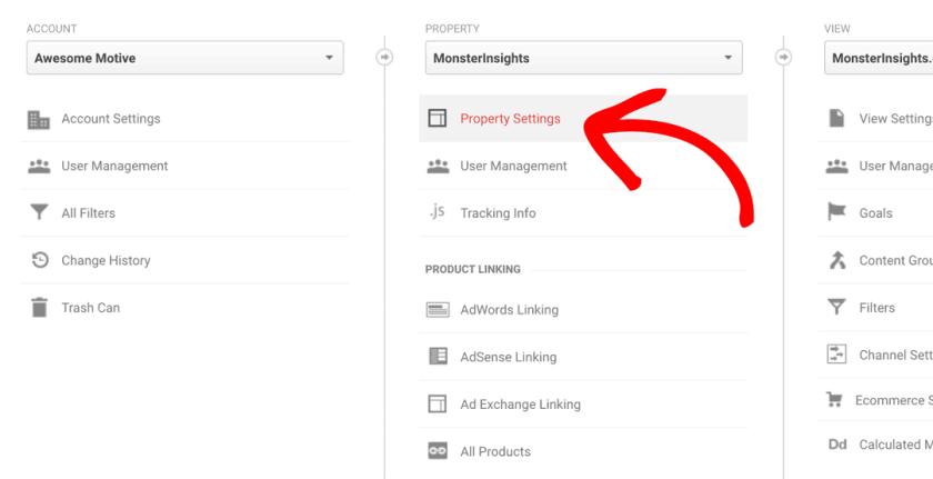 Select-Property-Settings