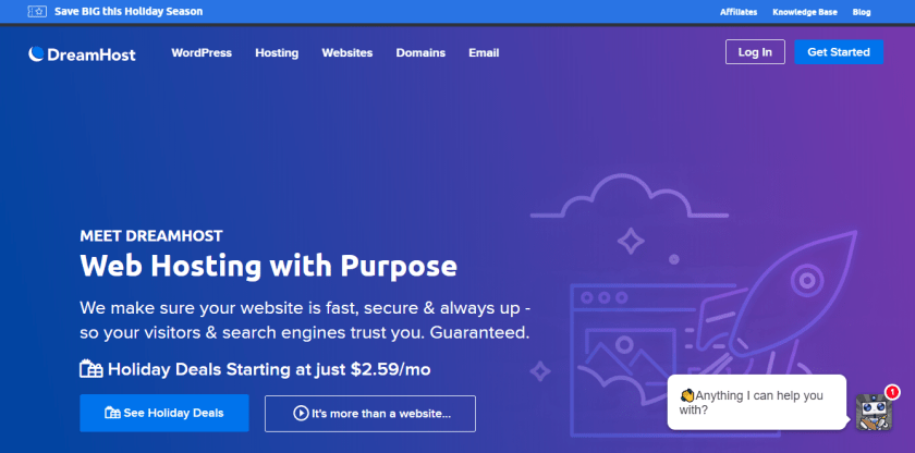 Dreamhost Sale