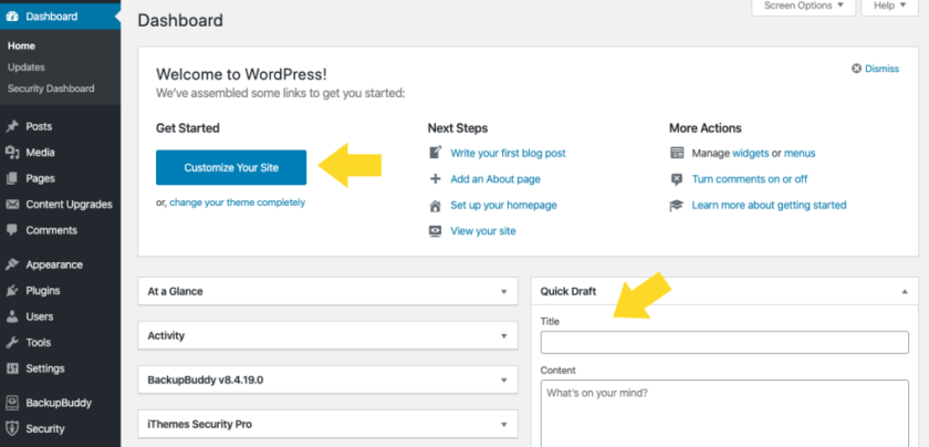 WordPress 5.3 UI Changes