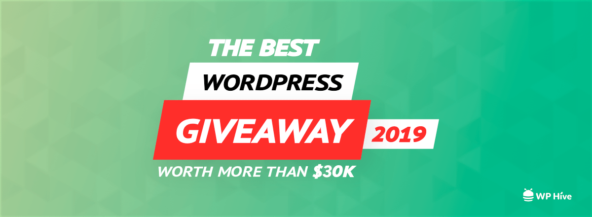 Sweepstakes: Win $30K worth of plugins, themes, hosting deals during Black Friday Giveaway 1