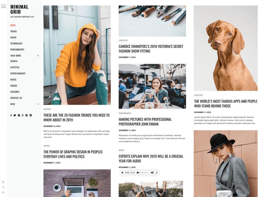 21 Best Minimalist WordPress Themes for 2020! 5