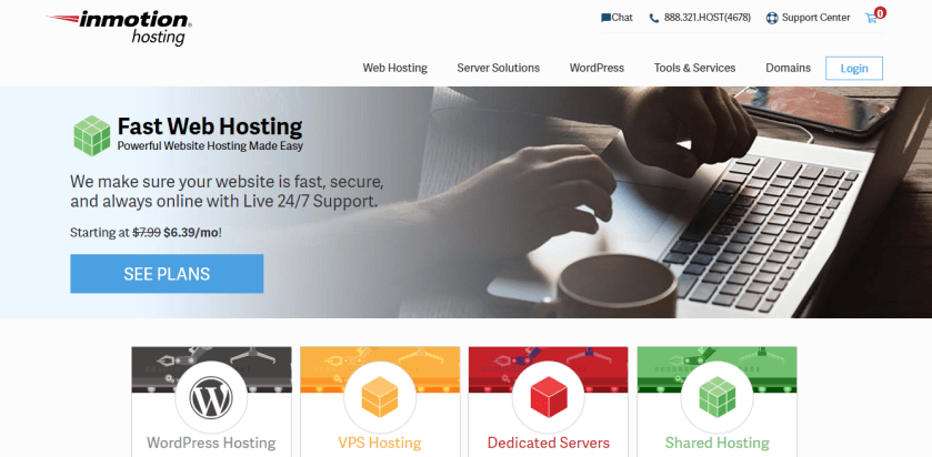 InMotion-WordPress Hosting