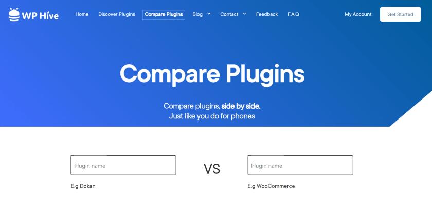 compare plugins