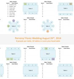 wedding seating chart template [ 1388 x 1046 Pixel ]