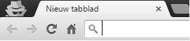 incognito modus - Google Chrome