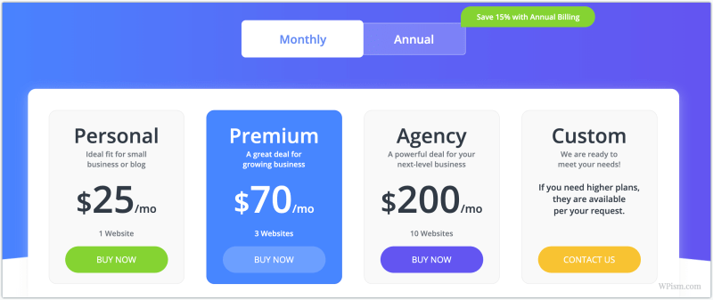 10Web Pricing Plans 10Web Coupon Code Discount