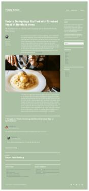 2016 WordPress Theme color-scheme-green