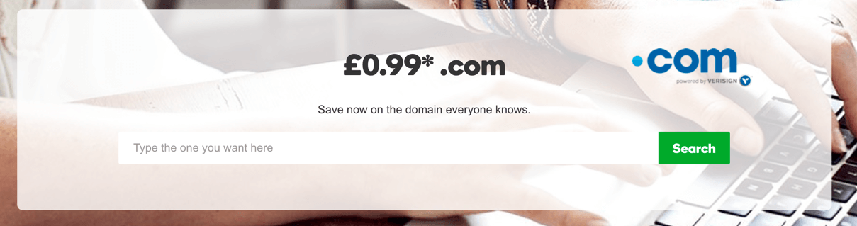 99p Domain from GoDaddy Coupon Offer