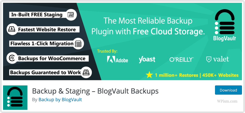 BlogVault Migration Plugin